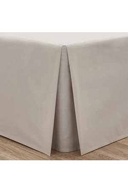 Catherine Lansfield Percale Box Pleated Base Valance