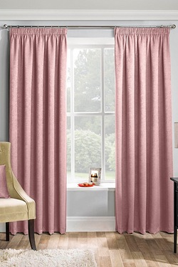 Matrix Blockout Pencil Pleat Curtains