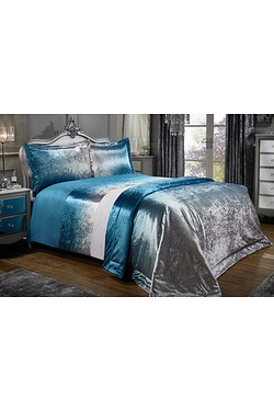 Ombre Velvet Pair Of Pillowshams