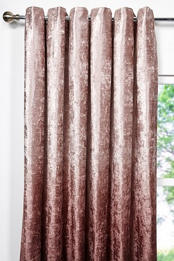 Ombre Velvet Eyelet Curtains
