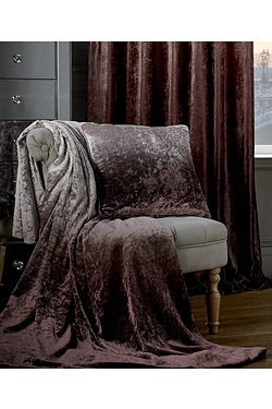 Ombre Velvet Throw