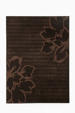 Luna Carved Floral Designed Rug