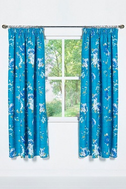 Kew Gardens Unlined Curtains (No Ti...