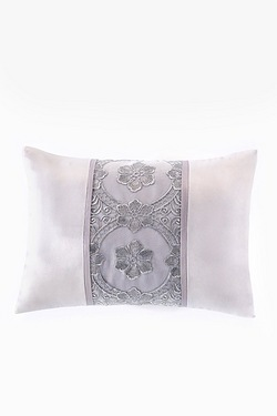 Antique Lace Filled Boudoir Cushion