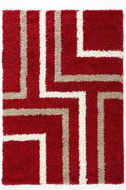 Linear Shaggy Rug