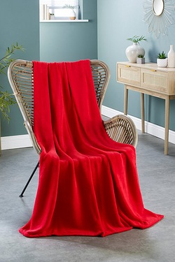 Microfleece Throw