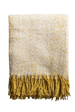 Herringbone Mohair Throw