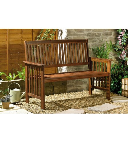 image for camillion solid wood garden bench from studio