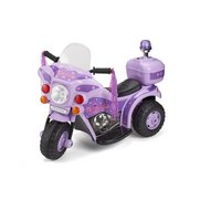 Ride-On Electric Princess Bike