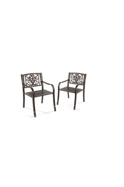 Pack Of 2 Chairs - Steel