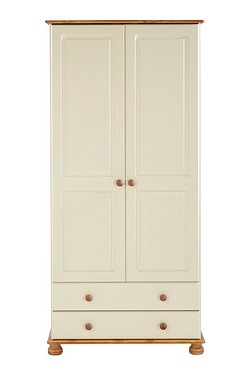 Richmond 2 Door 2 Drawer Wardrobe