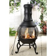 Cast Iron Chiminea/Fire Pit
