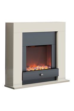 Warmlite Chichester Ivory Fireplace...