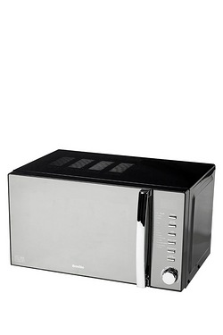 Breville 20 Litre Black Microwave With Grill