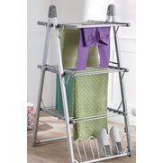 Beldray 3-Tier Heated Airer With Sh...