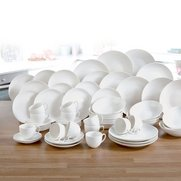 60-Piece New Bone China White Dinne...