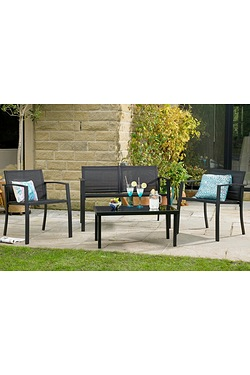 Havana Coffee 4-Piece Lounge Set
