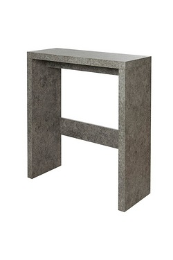Stone-Effect Console Table