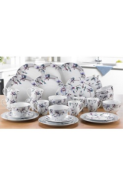 16 +16-Piece FREE Magnolia Dinner Set