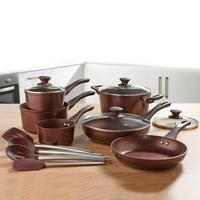Compare retail prices of 10-Piece Bronze Cookware Set to get the best deal online