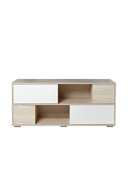 Two Tone TV/Storage Unit