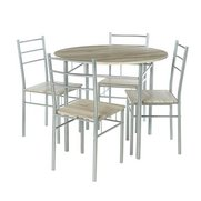 5-Piece Round Dining Set