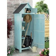 Garden Wooden Sentry Shed