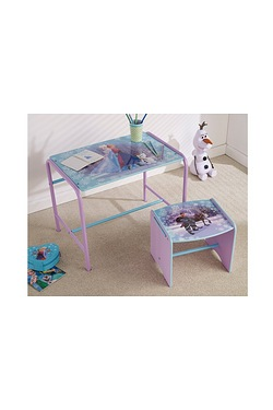 Frozen Desk And Stool Set