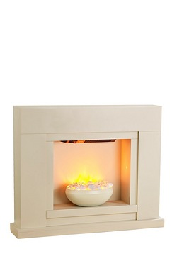 Beldray Conception Electric Fire Suite With Additional Pebbles