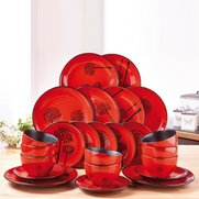 24-Piece Red and Black Trees Reacti...