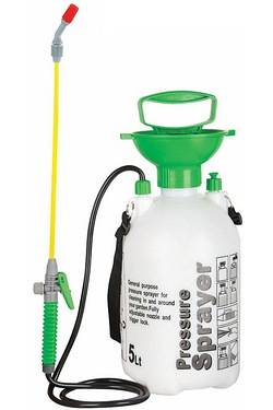 The Handy 5 litre Garden Pressure Sprayer