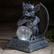 Gargoyle With Colour Changing Solar...