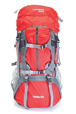 Yellowstone 55+5L Adventurer Rucksack