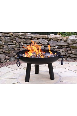 Gardeco Dakota Steel Fire Pit Medium