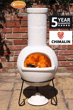 Gardeco Sempra Natural Clay Chimenea