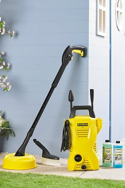 Karcher 1400W K2 Car and Home Pressure Washer With Patio Cleaner