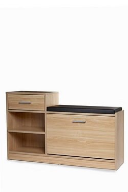 Malmo Shoe Bench with Drawer