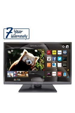 "32"" Mitchell Brown LED Smart TV"