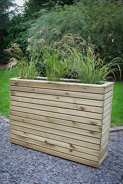 Linear Tall Planter