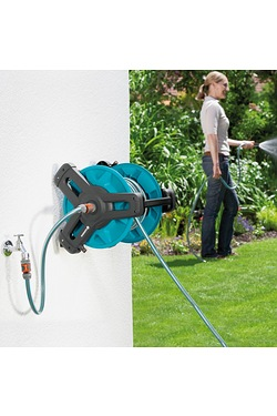 Gardena Classic Wall Fixed 20M Hose Reel Set