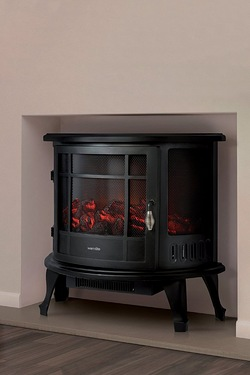 Warmlite 1800W Curved Electric Stove Fire