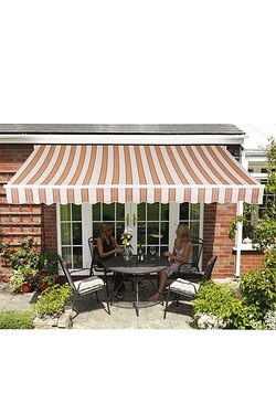 Patio Awning - Terracotta