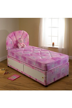 Gemma 3ft Bed Divan Set With 2 Draw...