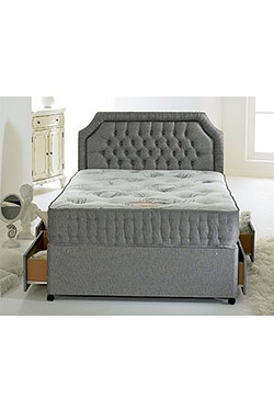 Affinity Pocket Divan Set - 4 Drawers