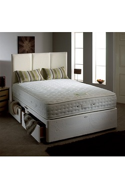 Aloe Vera Pocket Divan Set - 2 Drawers