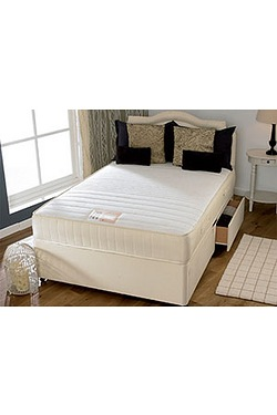 Memory Flex Divan Set - 4 Drawers
