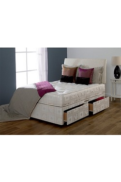 Majestic Pocket Divan Set - 4 Drawers