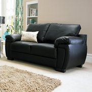 Ellis Faux Leather Sofa