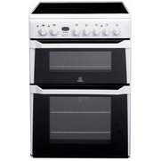 Indesit 60cm Double Oven Electric C...