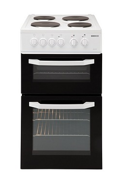 Beko 50cm Twin Cavity Electric Cooker